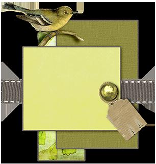 juno Chartreuse Bird Mat web