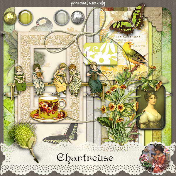 _juno Chartreuse Free Digital Kit