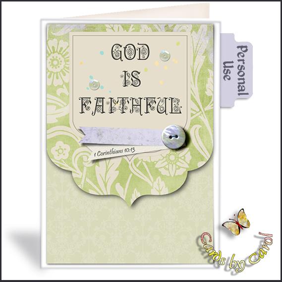 _ccrl God is Faithful