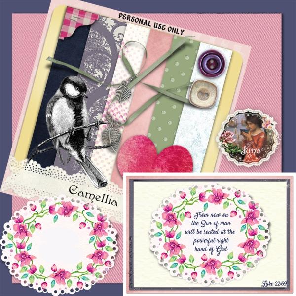 juno Camellia Set