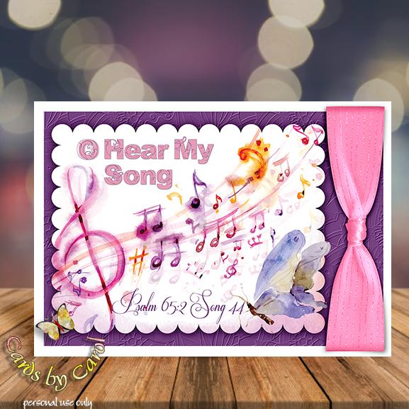 _ccrl O Hear My Song